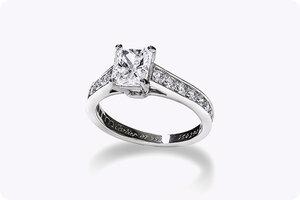 Cartier Wedding Band.Cartier 1895 Engagement Ring And Wedding Band Set Roman Malakov