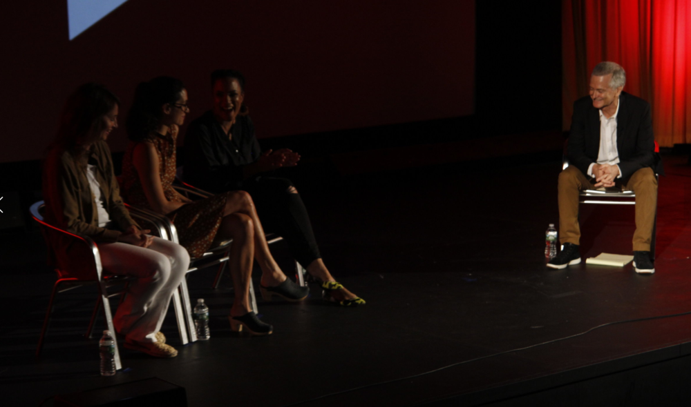 Christina Wayne, Sarah Treem, Janine Sherman Barrois + Jerry Foley,  Industry Panel   Credit: Hayes Walsh