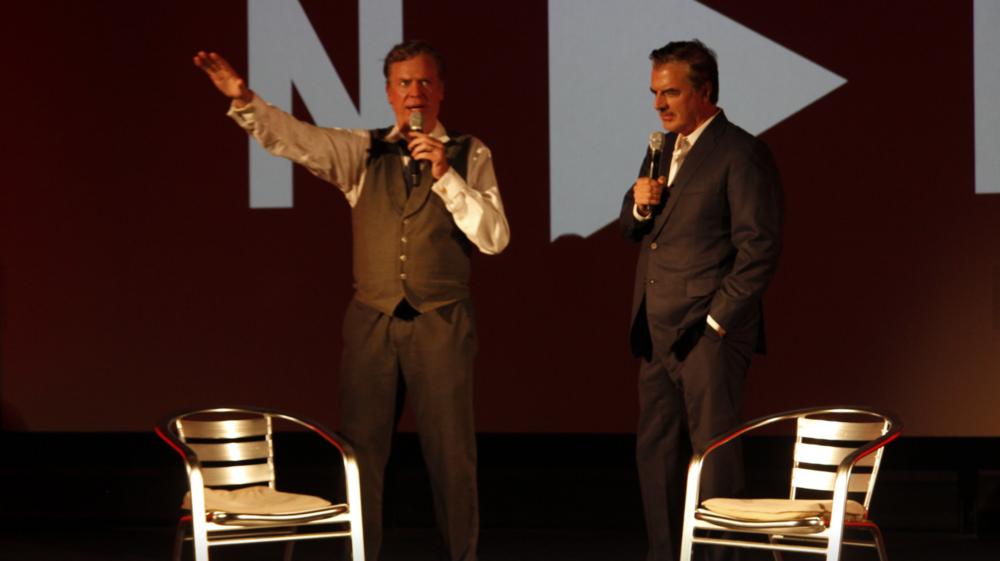 Chris McDonald + Chris Noth, Awards Night   Credit: Hayes Walsh