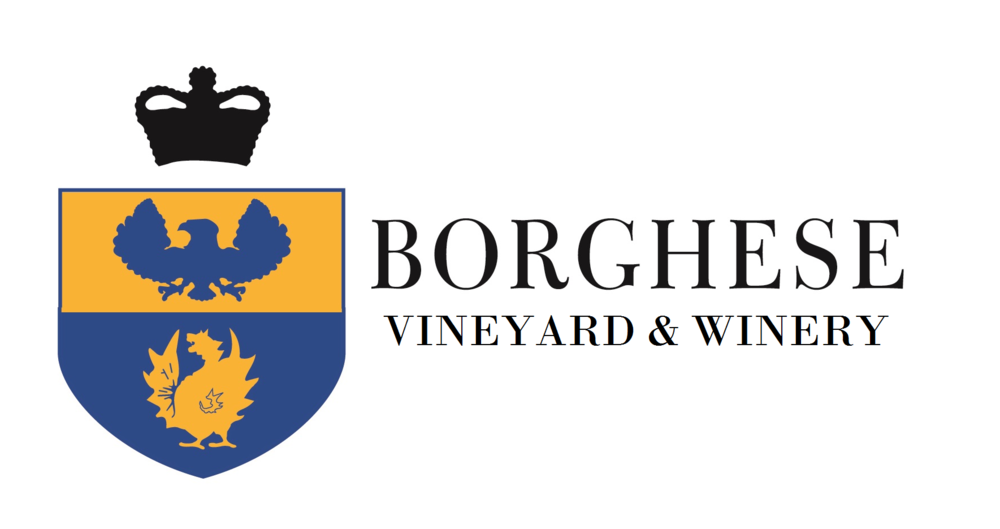 Borghese vineyard and winery logo.png
