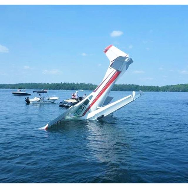 A little too excited for the long weekend? This person really should have kept their head up! #fail #friday #funny #lake #cottage #boat #oops #pilot #light #sun #outside #summer #joinwrksnow #floating