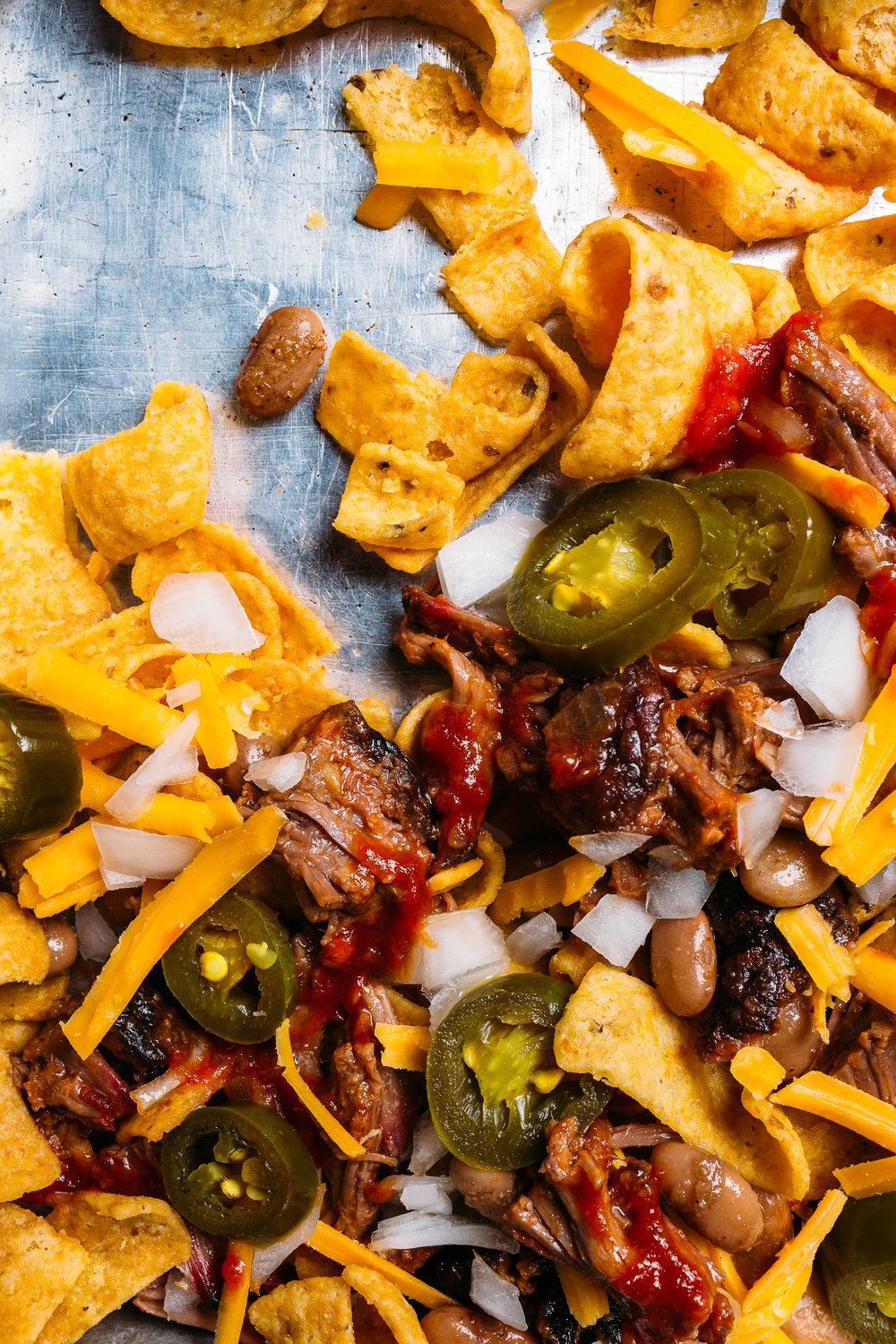Brisket Frito Pie, Stiles Switch. /  Photo:  Robert Strickland