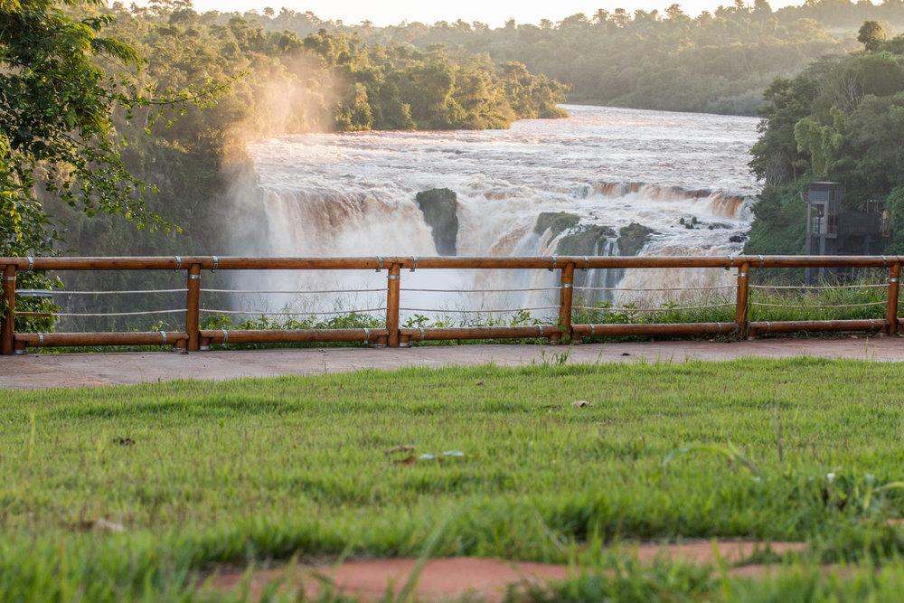 Mirador de las Cataratas del Paraguay