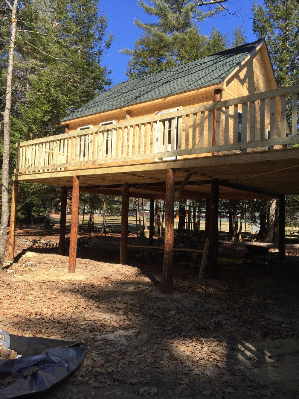 Hillbilly Home Development Tree House