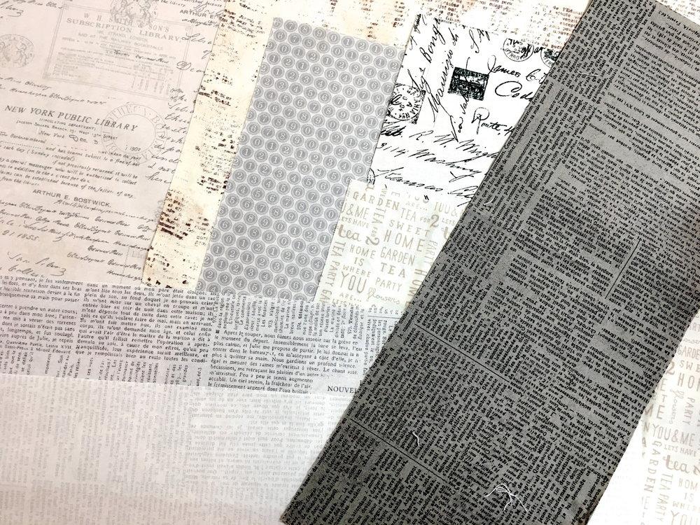 Neutral Background Fabrics