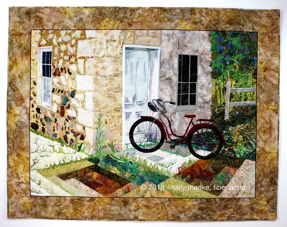 Wisconsin Road Trip Art Quilt