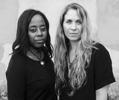 Filmmakers Deborah Riley Draper and Jennifer Galvin. Photo: Petra Richterova.