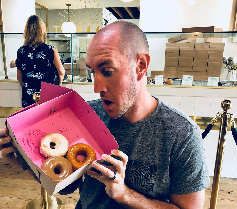 Very important donut photo!