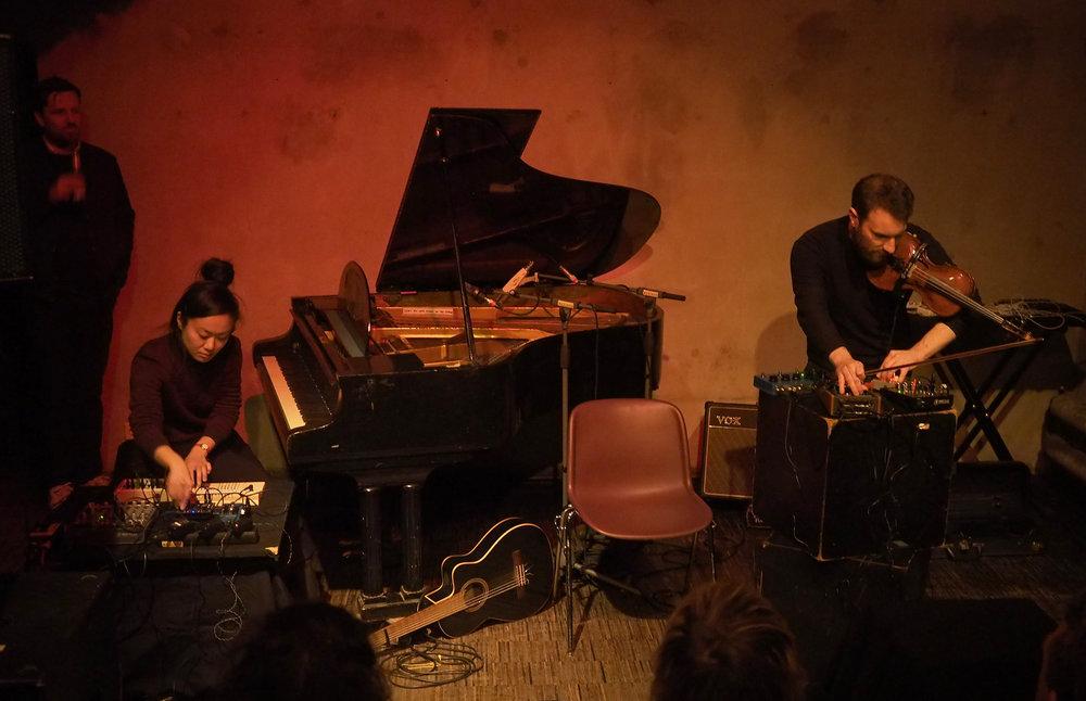 Midori Hirano & Christoph Berg. Photo by Udo Siegfriedt