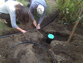 "Greywater Systems - Greywater is ""gently–used"" (relatively clean) waste water from bathtubs, showers, bathroom sinks, and washing machines.  It accounts for 50% – 80% of a typical family's daily water use, which adds up to tens of thousands of gallons per year. Instead of throwing this water away, it can be recycled to water the plants and trees in the yard.A Water LA greywater system generally hooks a home's applications up to the garden and allows landscapes to be watered year–round and is especially useful in times of drought."