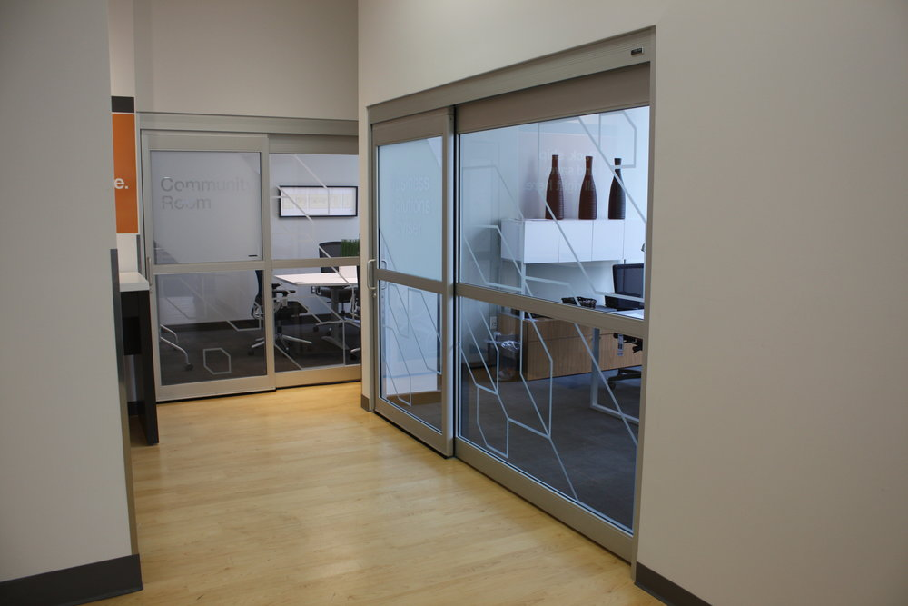 Visual privacy for meeting spaces and huddle rooms