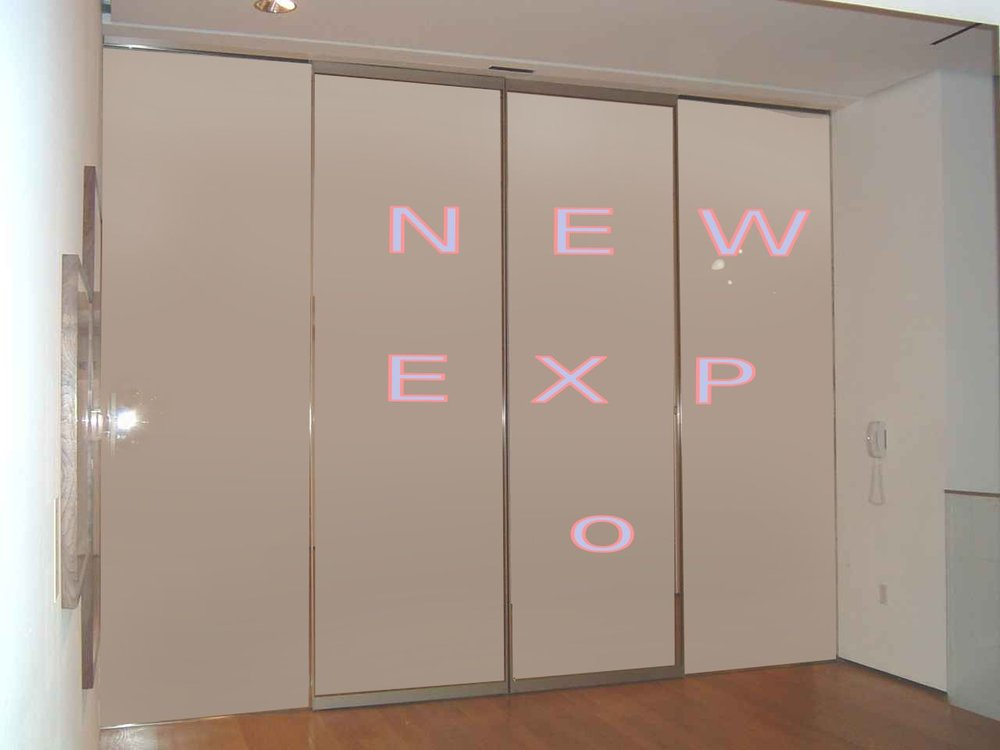 Entryway Becoms a Display to Promote New Events