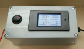 fILM TEST METER WITH POWER DISPLAY