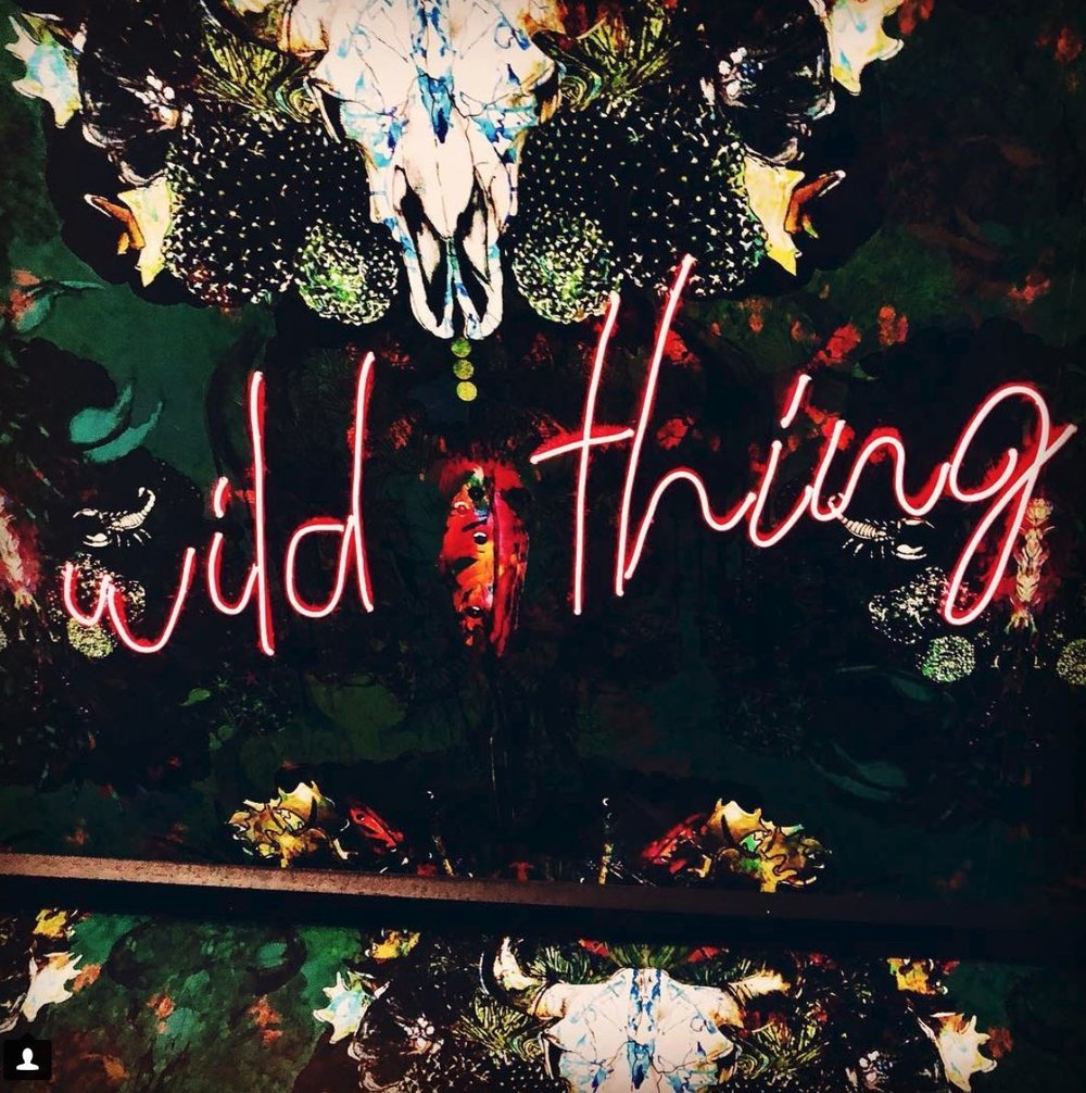 I never saw a wild thing -