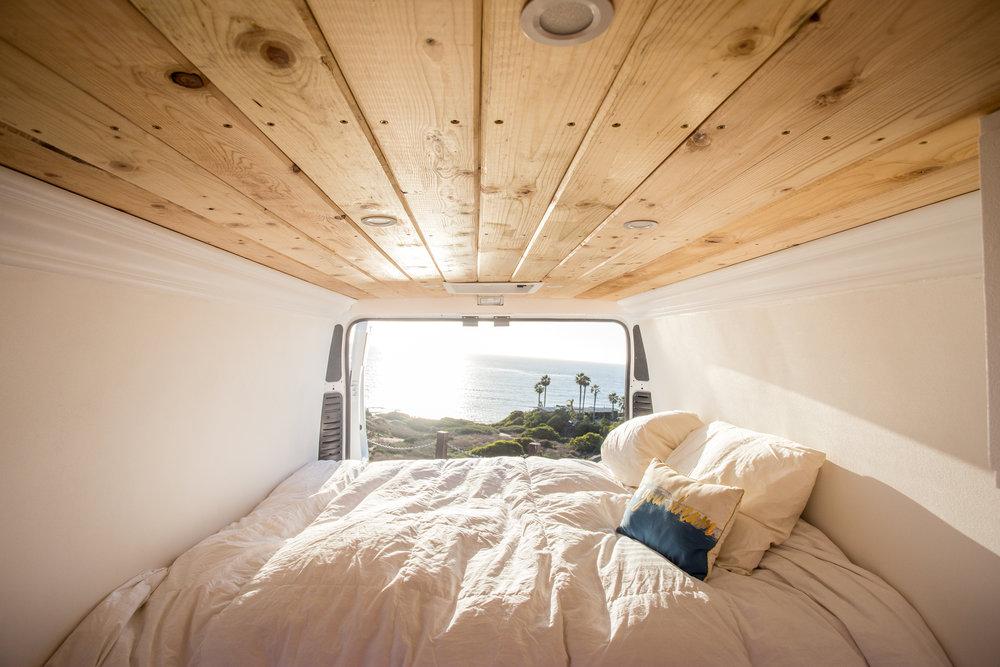 Conversion Camper Van Platform Bed