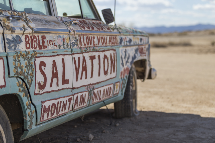 Salvation Mountain art