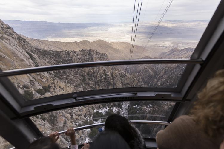 Riding the Aerial Tram