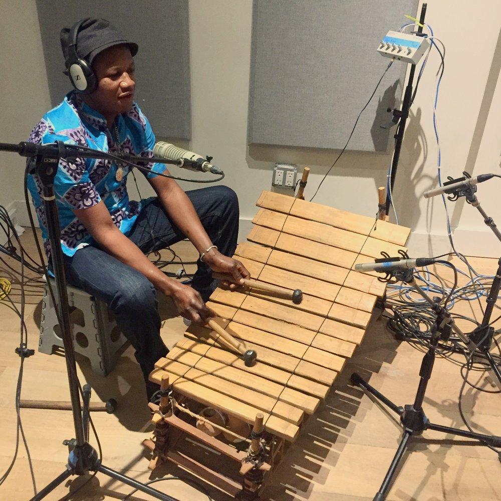gyil recording at acme