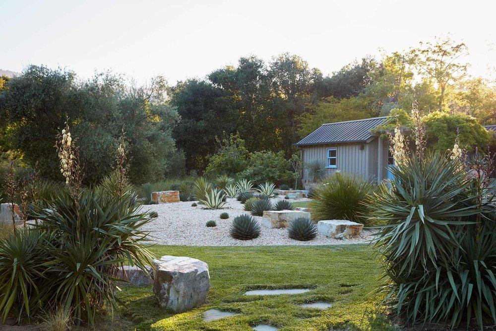 All A New Garden Style For Atherton Pleasure Point Courtyard Entry A San  Jose Edible Garden A Sense Of Place In Menlo Park Carex Panza   The Natural  Lawn ...