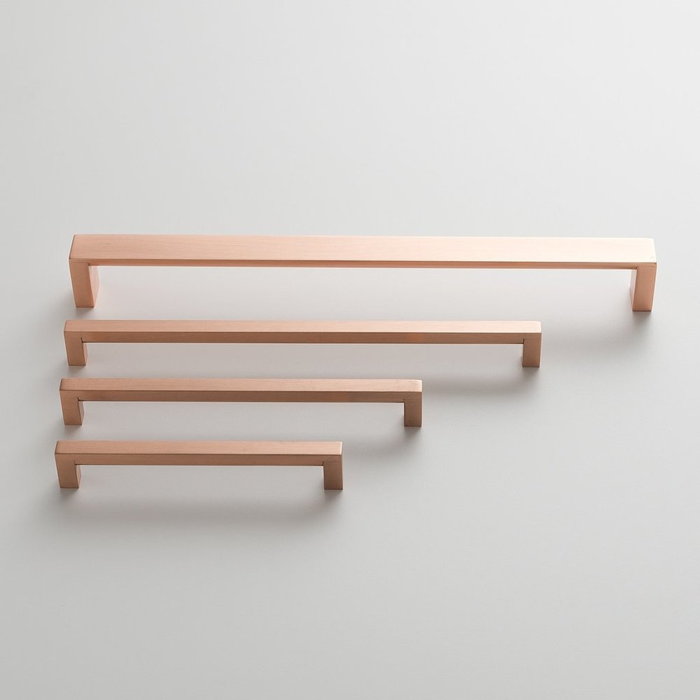 Satin Copper Edgecliff Pull