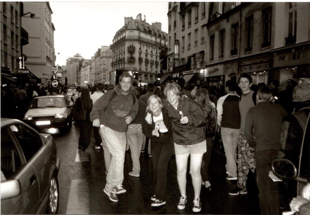 KA Matt Pape, Cat, Kate Techno Parade 98.jpg
