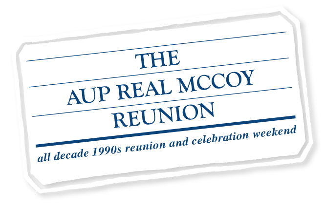AUP Real McCoy 90s Reunion 2018