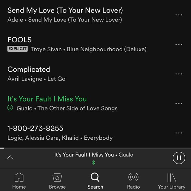 "Woohoo! Big s/o to ffconnect for placing my song ""It's Your Fault I Miss You"" from #TOSOLS on their awesome ""TOO GOOD AT GOODBYES."" @spotify playlist along w/ @samsmithworld @onerepublic @radiohead @katyperry @beyonce @adele @logic @avrillavigne @thegr8khalid and other beasts 😜🤘stream on!! . #TOSOLS #gualo #ffconnect #goodmusic #beatbox #beatboxing #blues #acoustic #pop #groove #singersongwriter #performer #music #newmusic #miamimusic #originalmusic #fresh #musician #livemusic #samsmith #onerepublic #radiohead #beyonce #demilovato #adele #logic #avrillavigne #khalid"