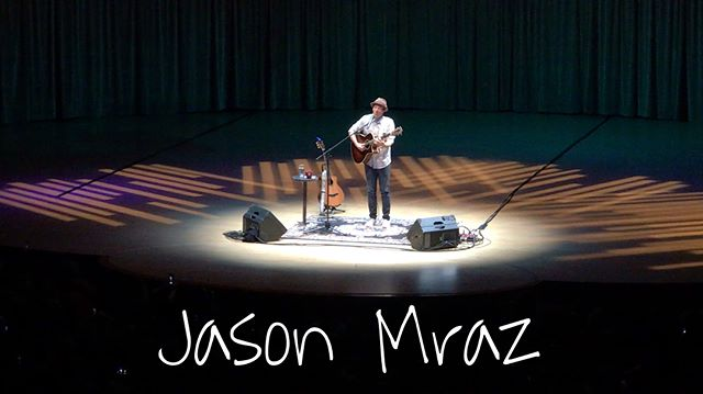 Sincerely impacted by one of the greatest... @jason_mraz . A true ROLE MODEL in music. With all the right to brag, show-off and impress, this influential creature did nothing but GIVE value, peace, and a whole lot of LOVE to us, the listeners, a packed concert hall in the verdict-less, superficial and unpredictable city of Miami, FL. Here are just a few unforgettable highlights 💫 I can talk/write all day on this evening's experience but I'm quite sleepy as I write this and I'm sure ain't nobody got time for them heavy-worded-bloggish posts on ig... so, as Mr. A-to-Z told us (the crowd) to tell you: it was #breathtaking 😆💛 . #jasonmraz #mraz #jasonmrazlive #jasonmrazandhisguitar2018 #rolemodel #jasonmraztour #curbsideprofet #taylorguitar #happy #imyours #goodmusic #funk #blues #acoustic #pop #groove #singersongwriter #performer #music #newmusic #miamimusic #originalmusic #fresh #musician #livemusic #miamimusic #mrazfamilyfarms #givelove #lovesongs #love