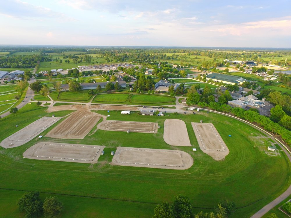 The Kentucky Horse Park Dressage Complex in Lexington Kentucky