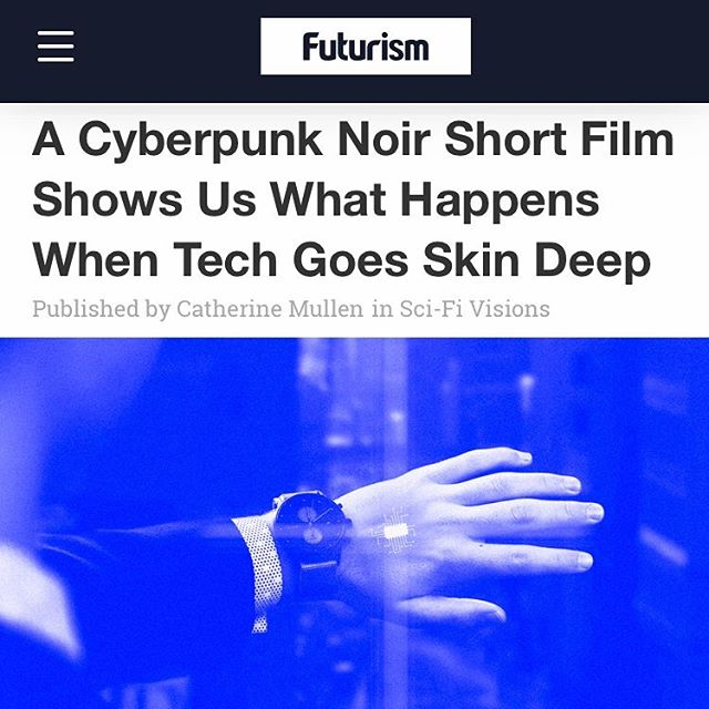 #Nanothefilm is now available on @Futurism! Be sure to check out their writeup... Link in bio!