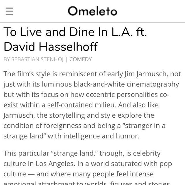 TO LIVE AND DINE IN L.A. is featured on @omeletocom! Watch at the link in our bio and be sure to read their amazing review!