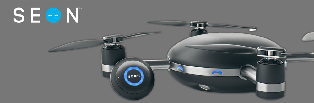 SEON™ is defined in Old English as 'to see'. The drone that follows you anywhere is ready to see, accompany, and capture the user on life's journeys. To learn more visit  https://www.seondrone.com/