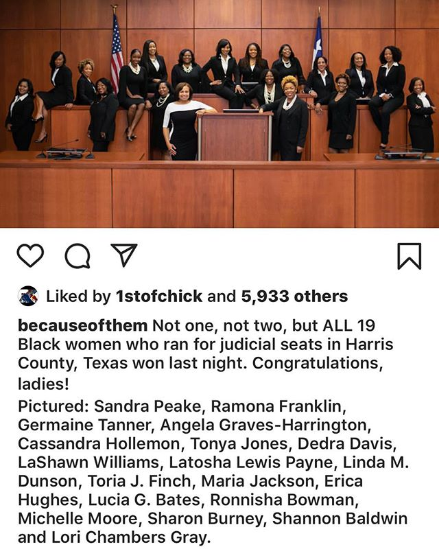 Can I get a witness?!?! Women are taking their rightful place in our government! NOW #blackgirlsrock #ruthecarter #wow repost @becauseofthem