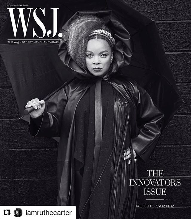 Our favorite innovator on the cover of @wsj ! Did you check it out yet? You'll see some of the costumes that are featured right now in Pittsburgh! They could be featured in YOUR city, too...