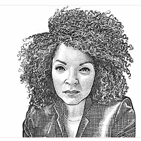 This incredible illustration breaths new life. Thank you @wsjmag it's everything. . . . . . #ruthecarter #blackpanther #costumedesign