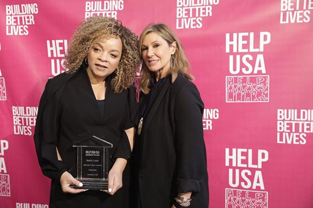 Hear ye! Hear ye! On this Day, Dec. 6 In The Year of Our Lord 2018 BLACK PANTHER receives a Golden Globe Nomination, I received the HELP HERO AWARD from Maria Cuomo Cole, Chairman of HELP USA and 22 women received scholarships in support of the positive change in their lives! Today Was A Good Day! @helpusa @theeightsenses . . . .  #blackpanther #ruthecarter #costumedesign