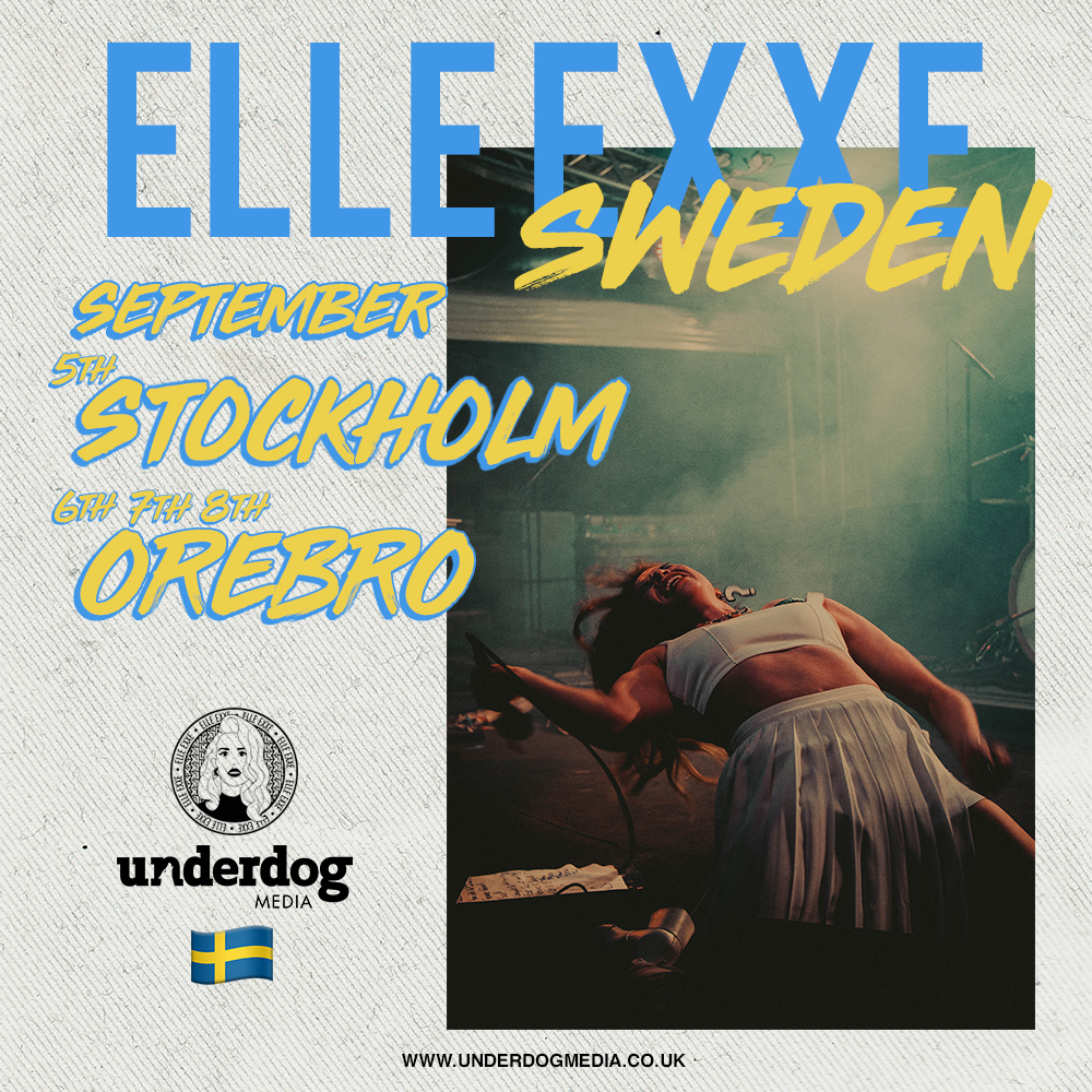 """SWEDEN 2018 TOUR"" BLOG POST -"