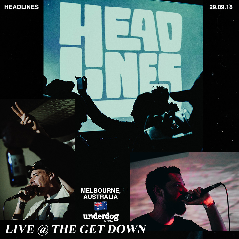 """""""LIVE @ THE GET DOWN"""" BLOG POST -"""
