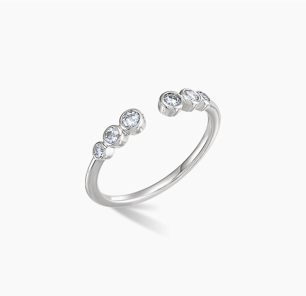Open Bezel Ring