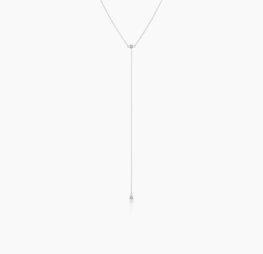 Lariat Split Necklace