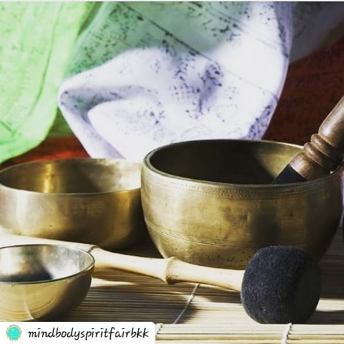 #Repost @mindbodyspiritfairbkk • • • • • MBSBKK IS THE PERFECT OPPORTUNITY FOR YOU TO NURTURE YOURSELF! What better way than with a one on one sound healing session with Tibetan singing bowls. ———————————————— Shima Healing are offering Sound healing with Tibetan singing bowls in The Healing Zone throughout the fair! ———————————————— These sessions are an effortless way to quickly enhance physiological, energetic, emotional, mental and spiritual well-being, whilst significantly reducing stress and anxiety, lowering blood pressure and improving circulation     And it induces a meditative state without you having to try! ————————————————Book some You time with Shima Healing at http://www.mbsbkk.com/healing-zone.html#shima  Spaces are limited! . . . . #mbsbkk #soundhealing #healthylifestyle #bangkokfair #holisticfair #selfcare #bewell #relax #tibetansingingbowls #timeforyou #healingzone
