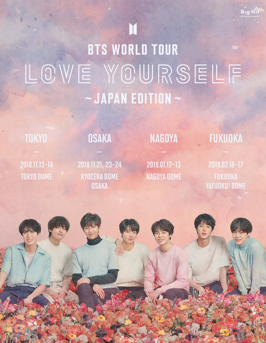 Love Yourself Concert In Osaka Day