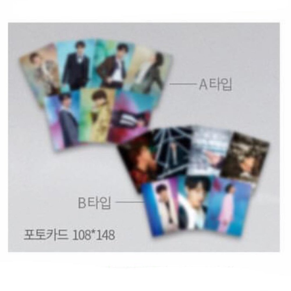 * First 300-purchasing customers will be able to receive one of these exclusive BTS postcard kits
