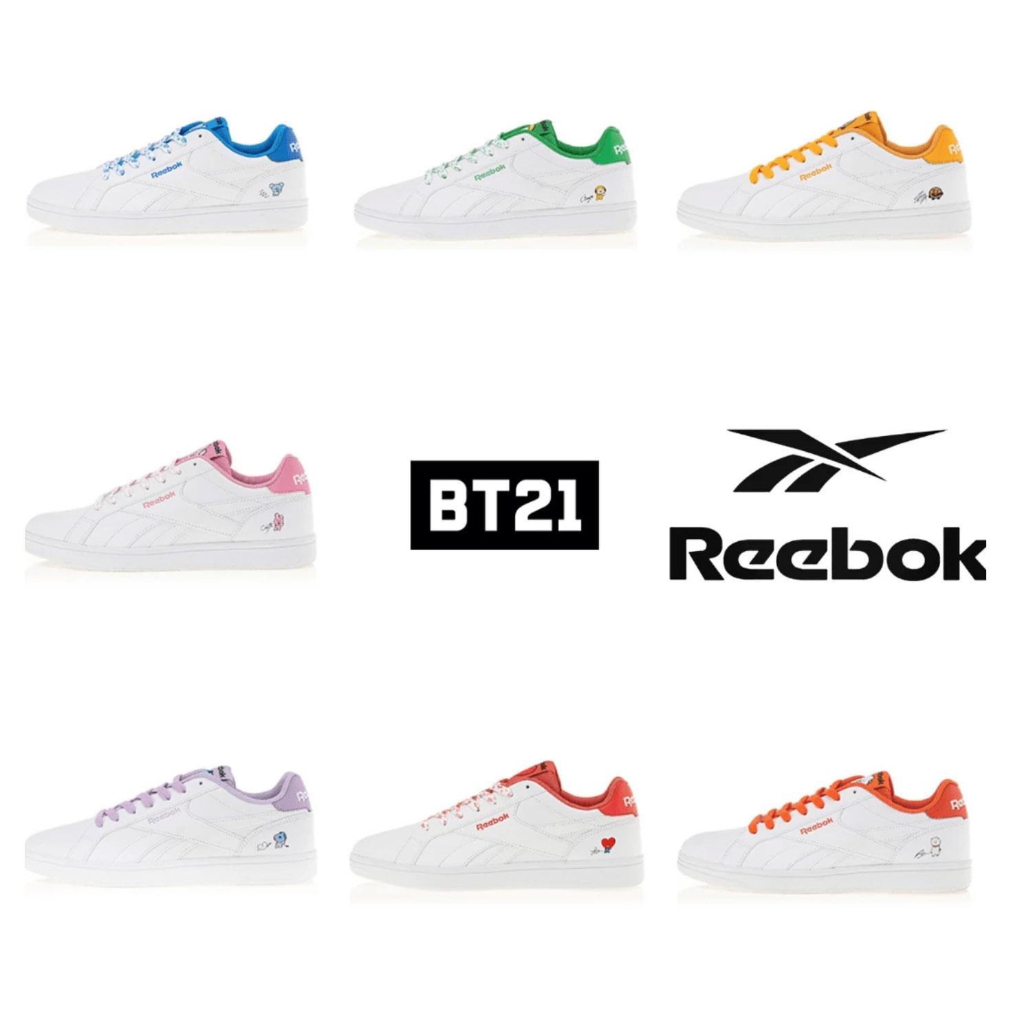 Reebok x BT21 — US BTS ARMY