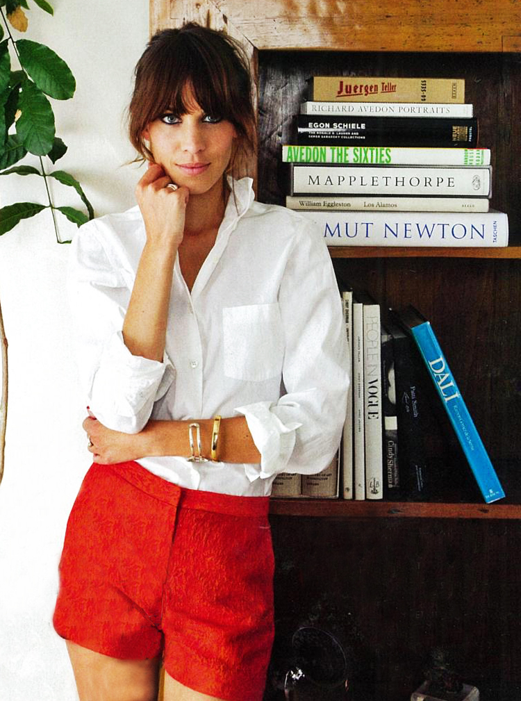Alexa Chung - forever giving us the classics