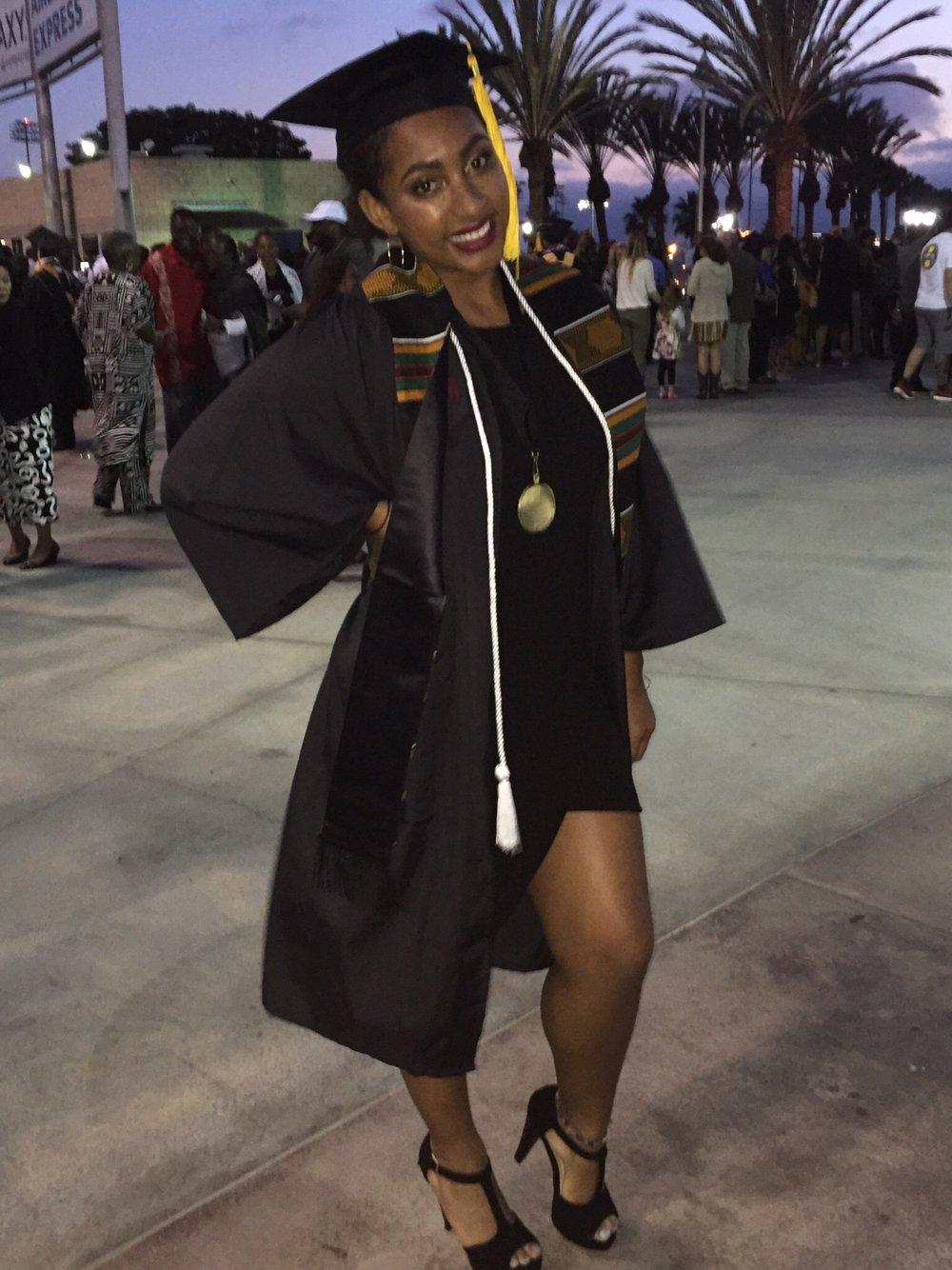 Post-Bacc graduation!