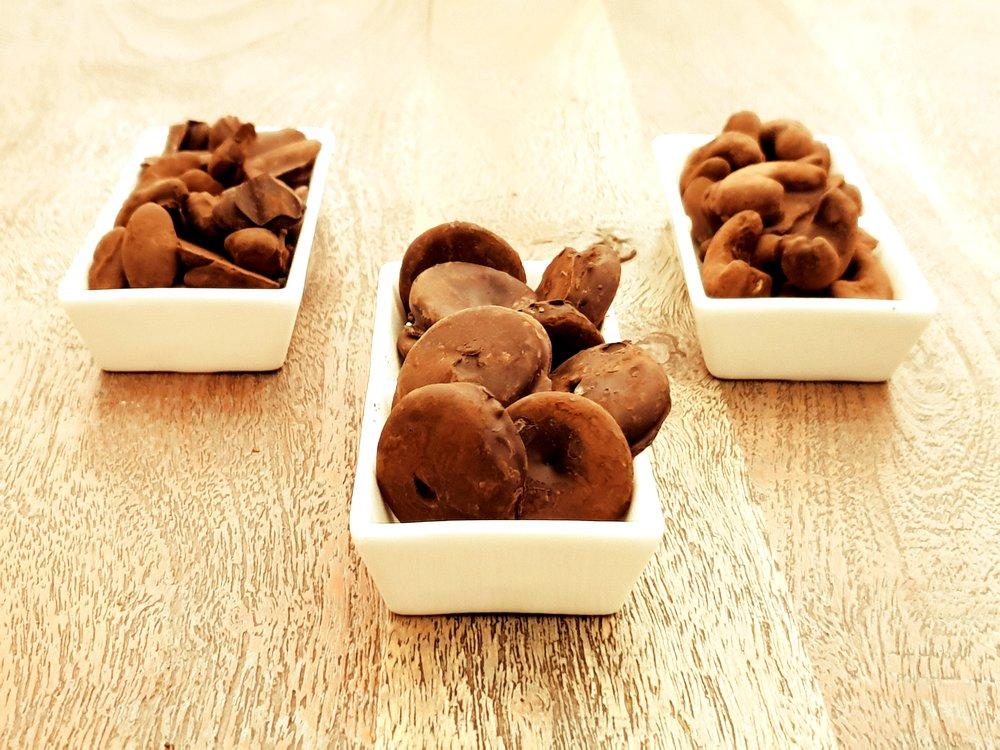 chocolate truffle nuggets