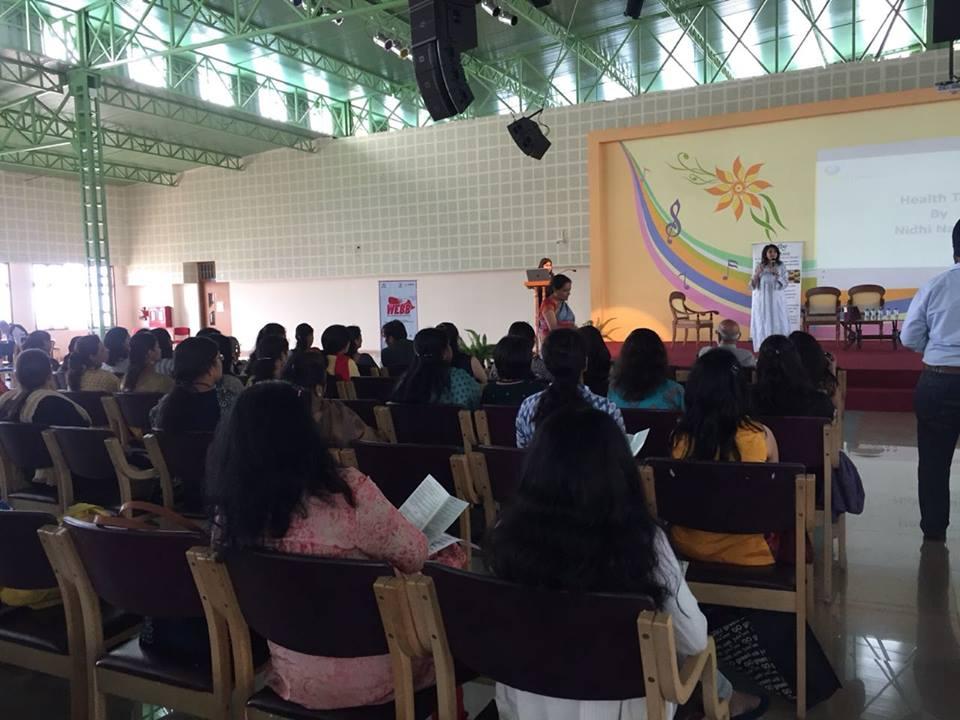 Health Talk at Christ University