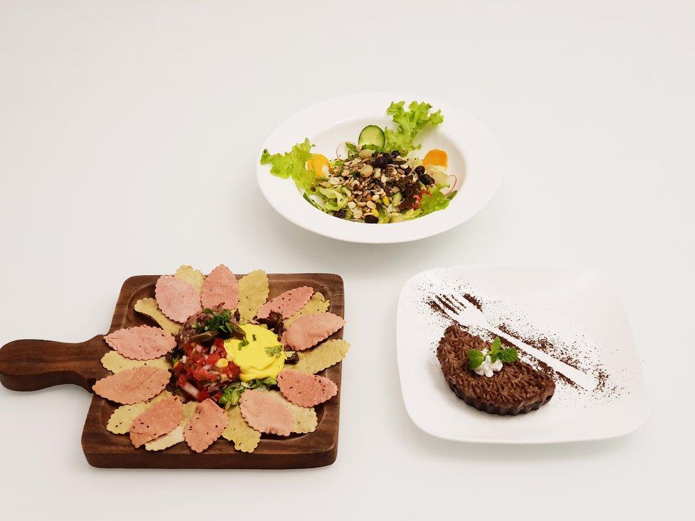 Nachos + Salad + Dessert @Rs.649 only
