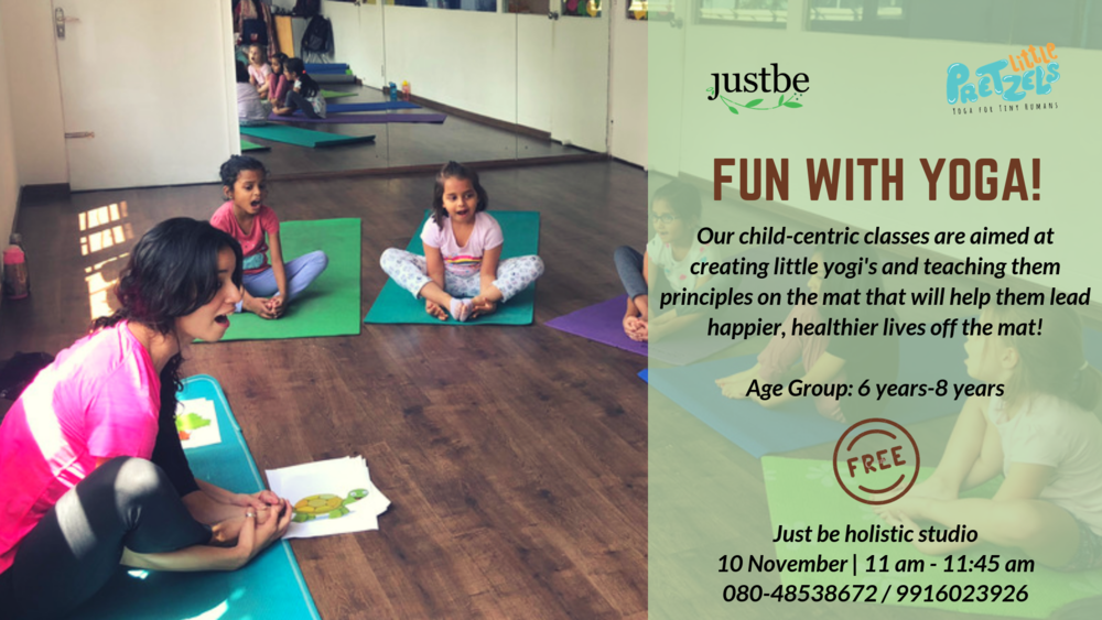 Fun with Yoga for Kids
